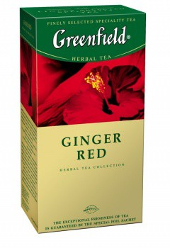 Greenfield GINGER RED 25 пакетиков
