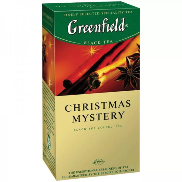 Greenfield CHRISTMAS MYSTERY 25 пакетиков