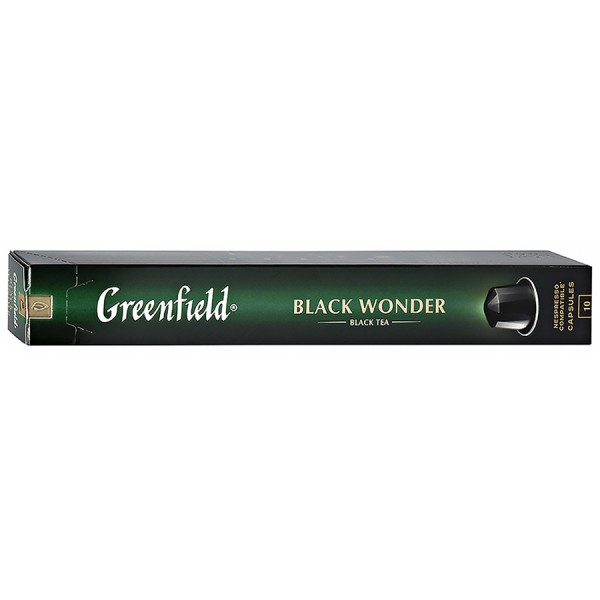 Чай в капсулах Greenfield Black Wonder 10 шт
